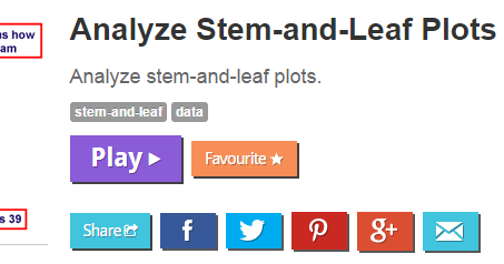 stem and leaf plot practice pdf