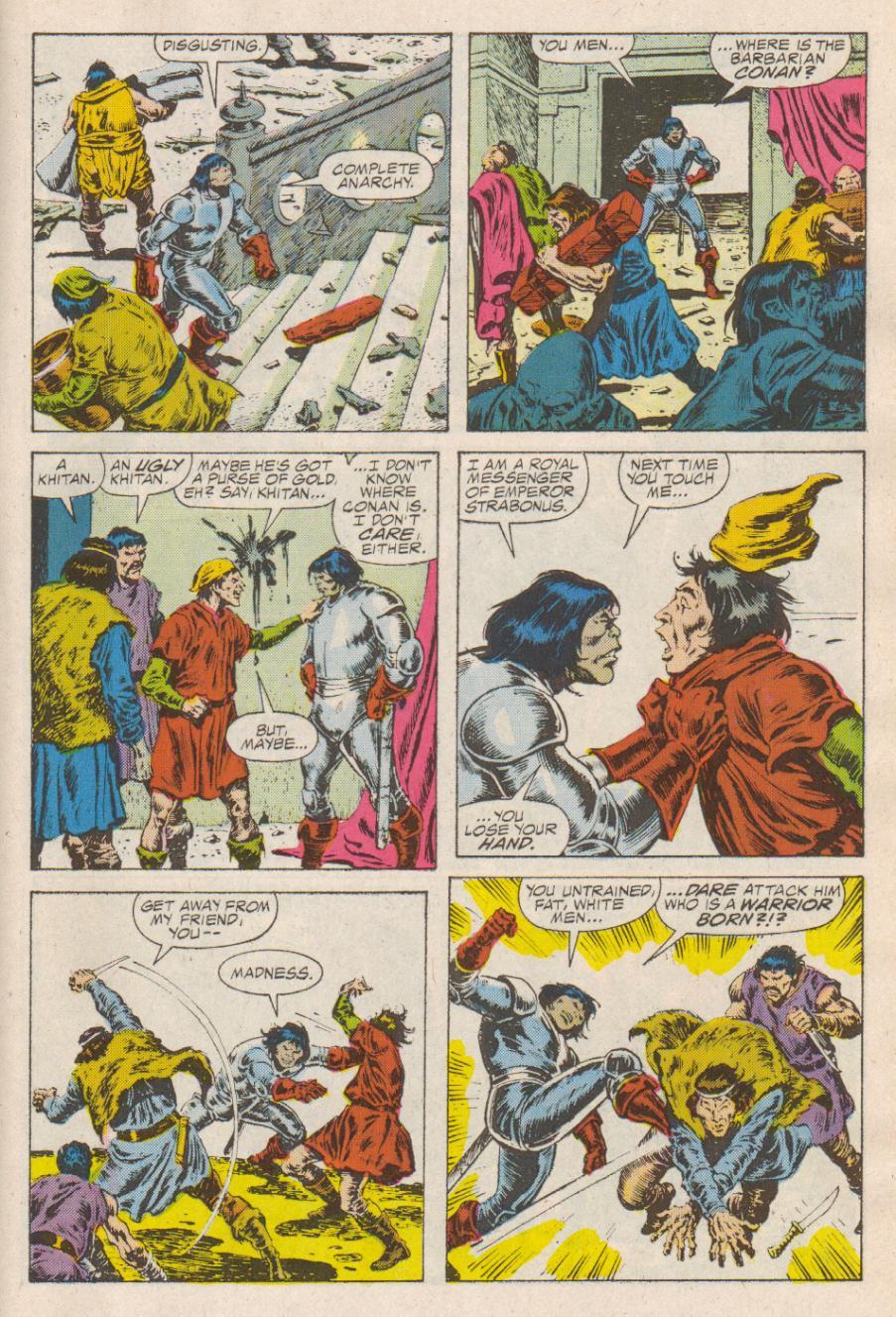 Conan the Barbarian (1970) Issue #190 #202 - English 14