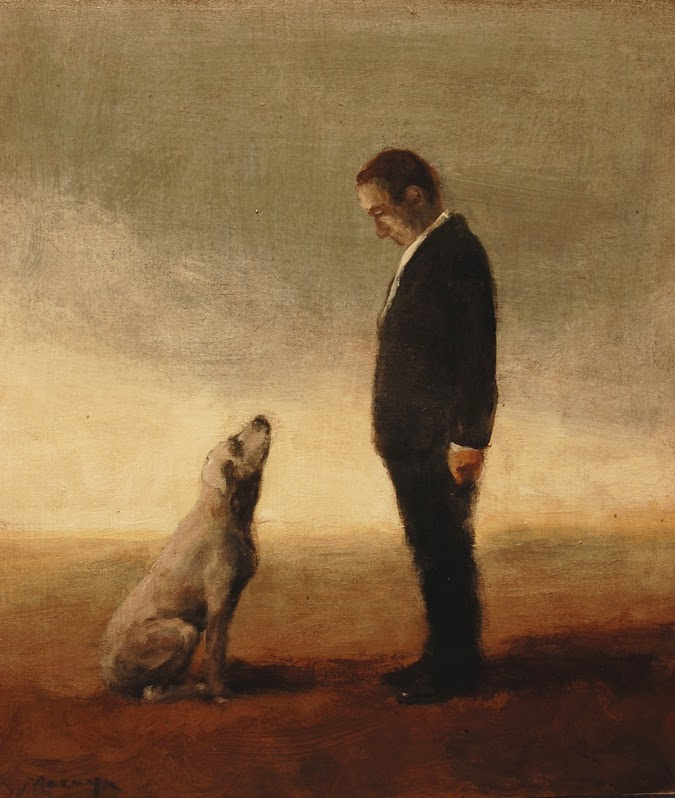 Miguel Macaya's Painting 'Capricho Con Perro' - Notes from the Pack