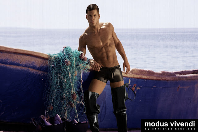 Iraklis Kozas for modus vivendi fetish underwear line Fisherman