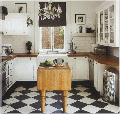 black and white tile kitchen floor. Black and White Tile Floors