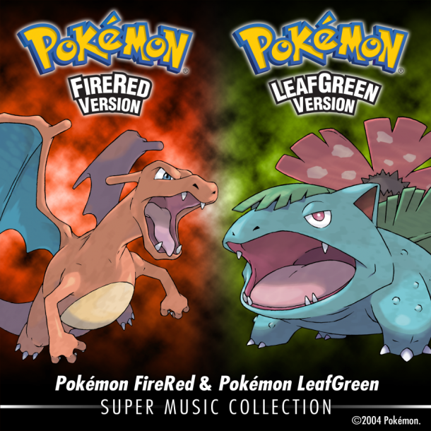 "Ya disponible en iTunes ""Pokémon FireRed & Pokémon LeafGreen: Super Music Collection"""