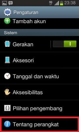 Update software os android Cara Upgrade OS Android ke Versi Terbaru