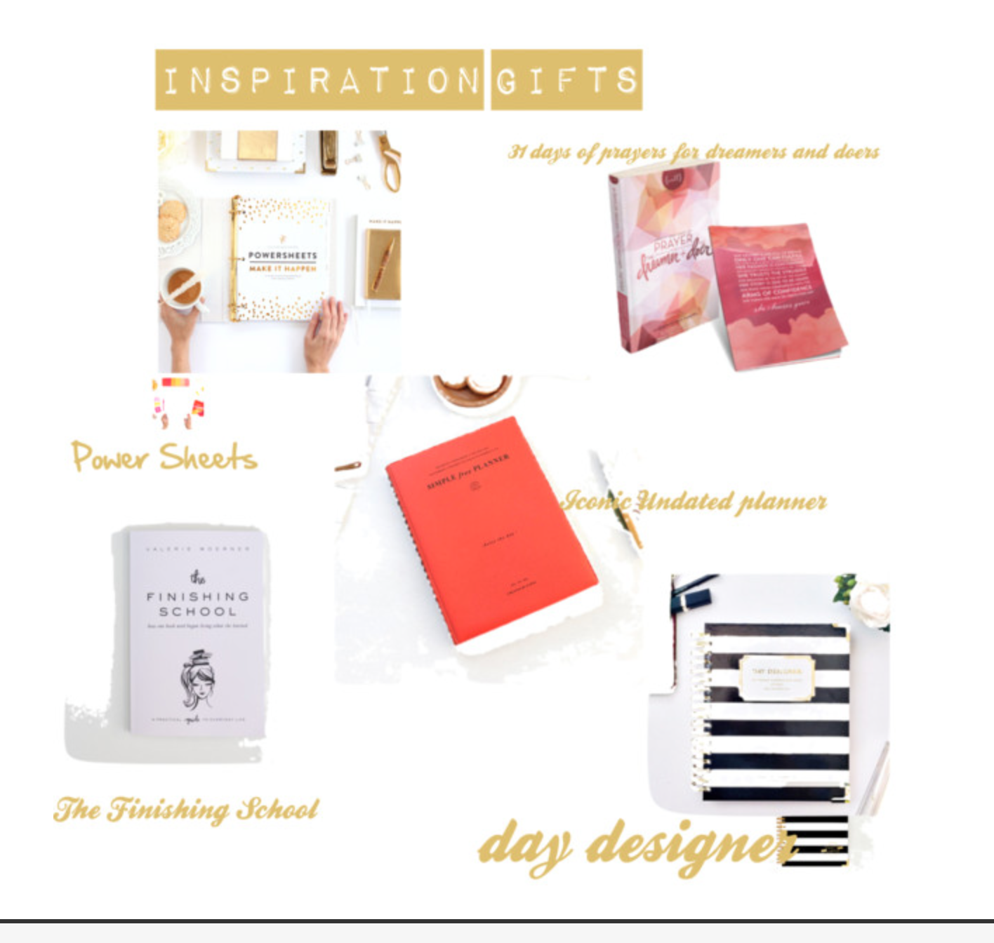 the modest life inspirational gift ideas