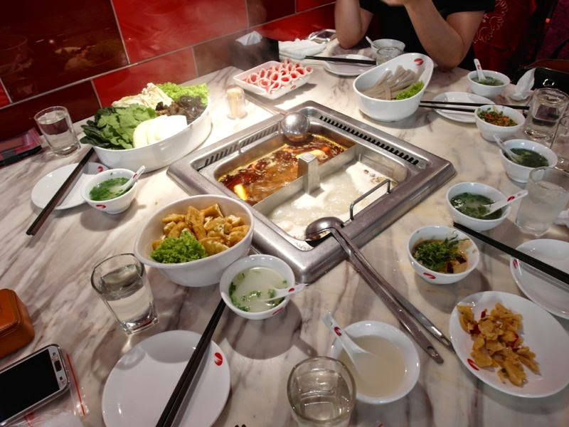 Hai Di Lao Hot Pot 海底捞火锅 haidilao steamboat review food lunarrive singapore