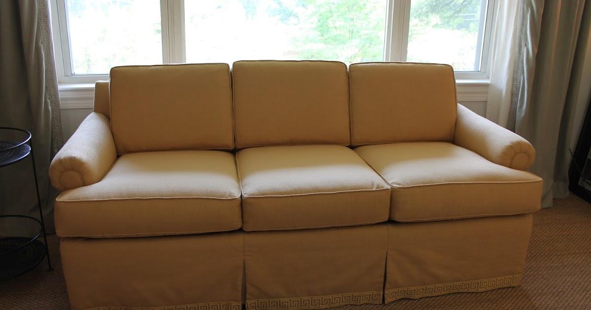 My Sofa 4 Ways & Greek Key Trim