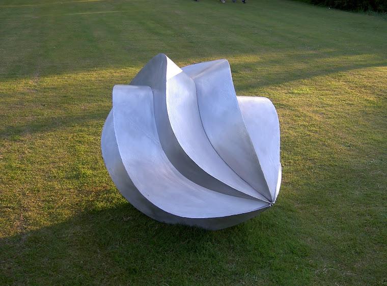 Aluminium sculpture 2005