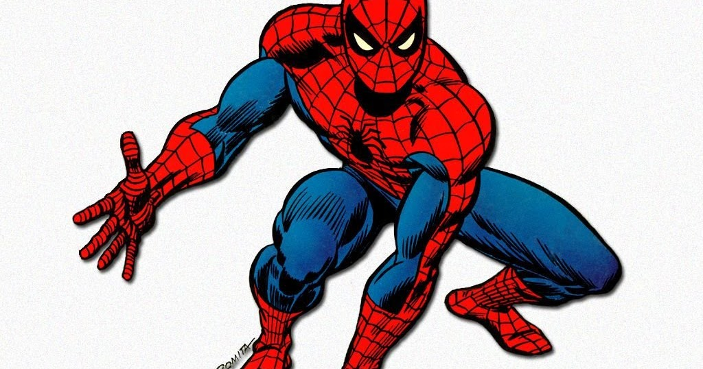 classic spiderman symbol i - photo #13