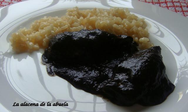 La alacena de la abuela carmen chipirones en su tinta for Cocina casera de la abuela