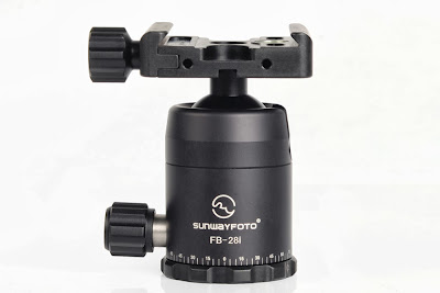 Sunwayfoto FB-28i ball head - front view