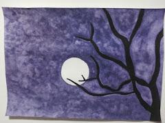 Me divierto pintando....