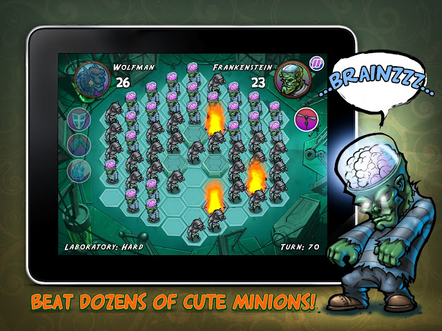Zombie Quest iPad screenshot