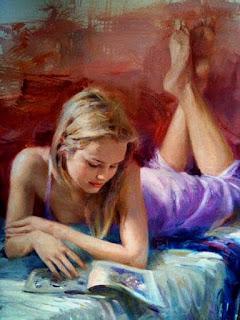 Mujeres Cuadros Figurativos Impresionistas