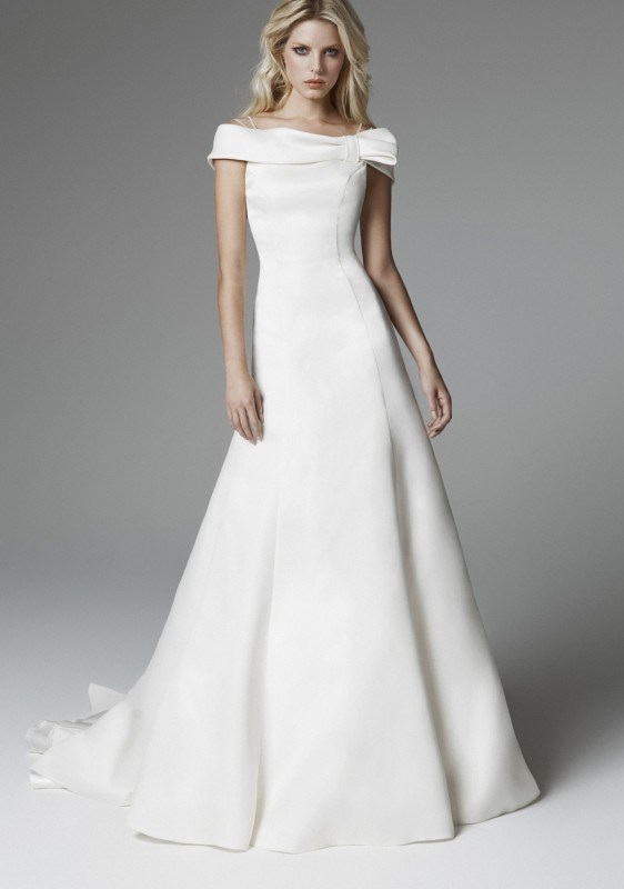 2013 blumarine wedding dresses world of bridal for Marina rinaldi wedding dresses