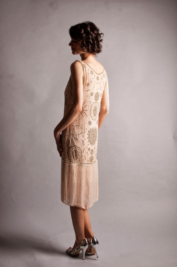 Vintage 1920s Affordable Wedding Dress - Etsy