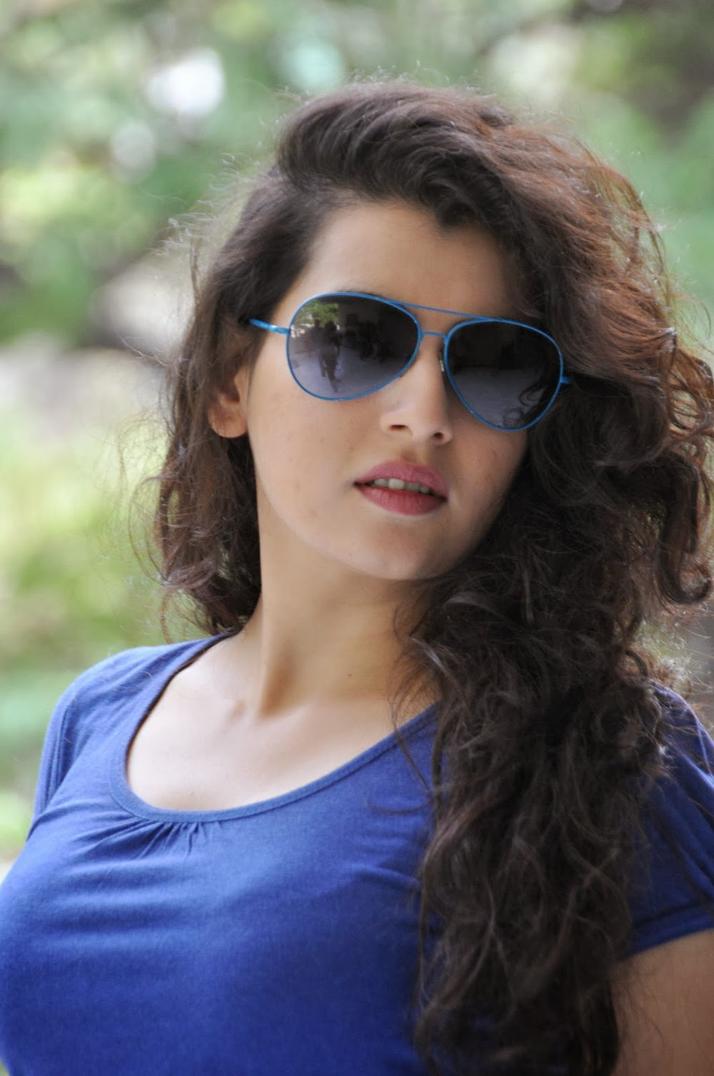 Archana photos in blue top-HQ-Photo-17