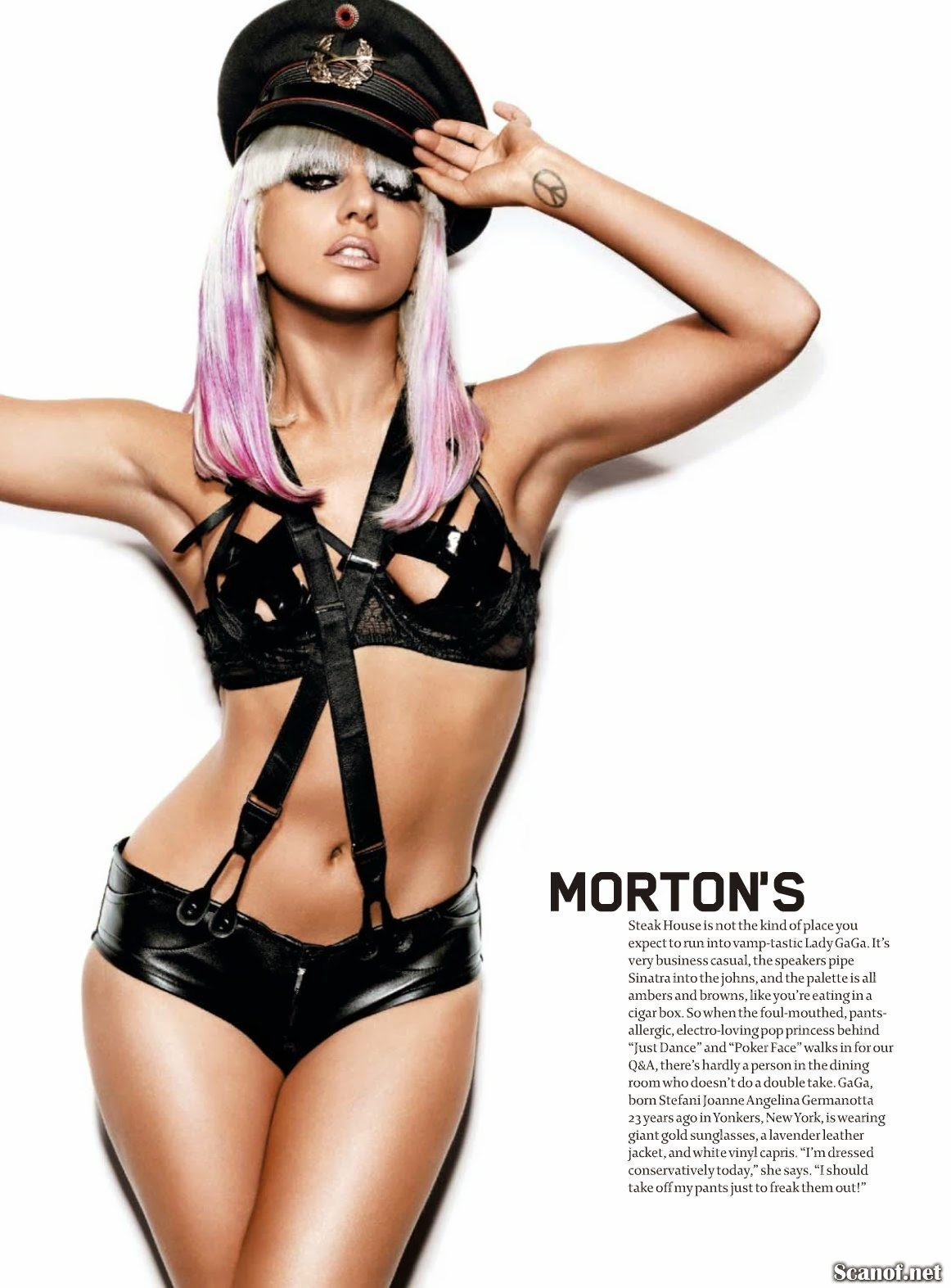 Lady Gaga HQ Pictures Maxim US Magazine Photoshoot July 2009