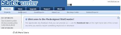 StatCounter Add User