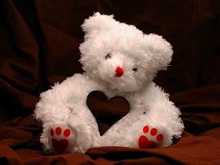Boneka beruang love 25
