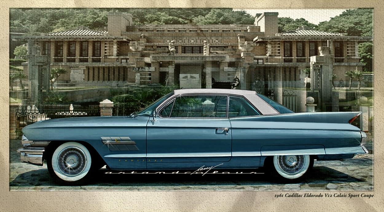 Casey artandcolour cars february 2012 - 1961 Cadillac Eldorado Calais V12 Sport Coupe