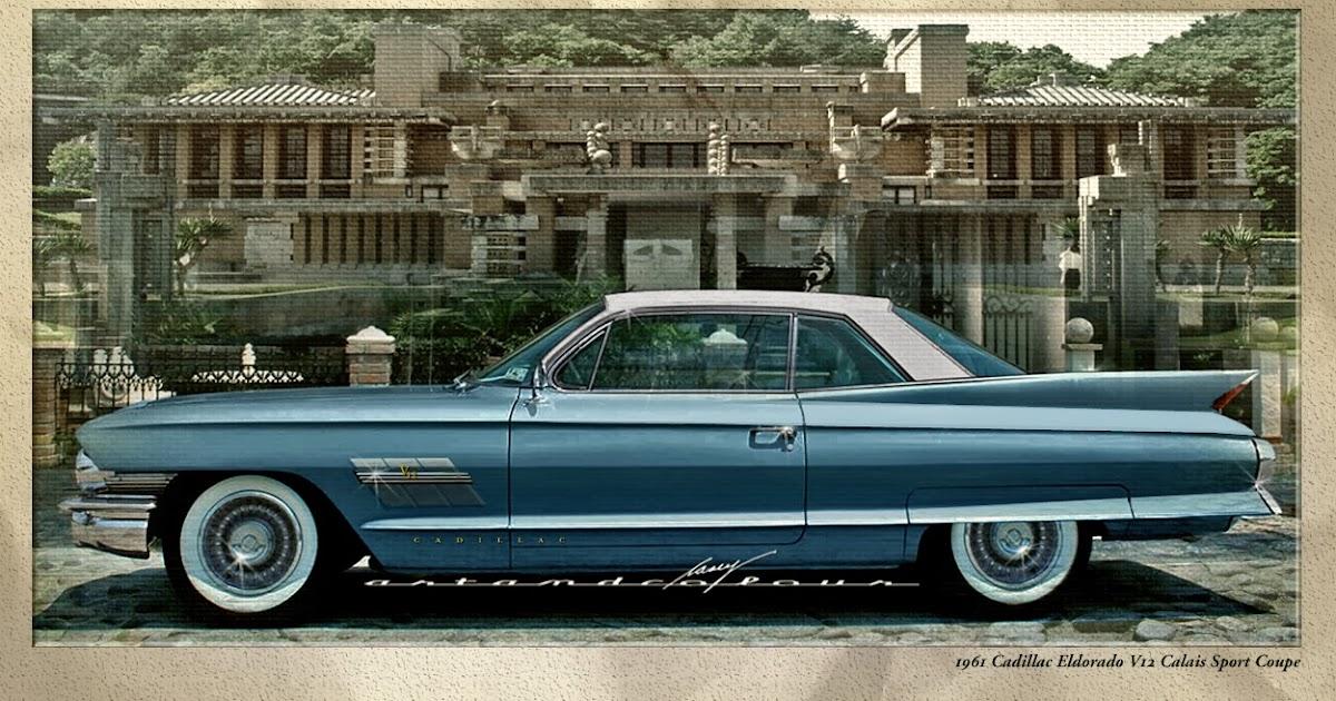 casey artandcolour cars 1961 cadillac eldorado calais v12. Black Bedroom Furniture Sets. Home Design Ideas