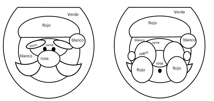 Set De Baño Navideno Manualidades:Las aventuras de Mamá Cuervo: Manualidades: Fieltro para Navidad