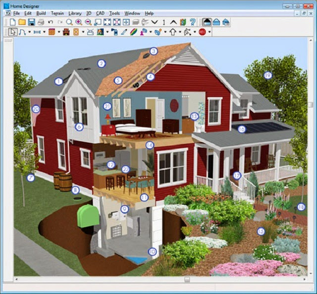 List of house design software ayanahouse Free home design software download