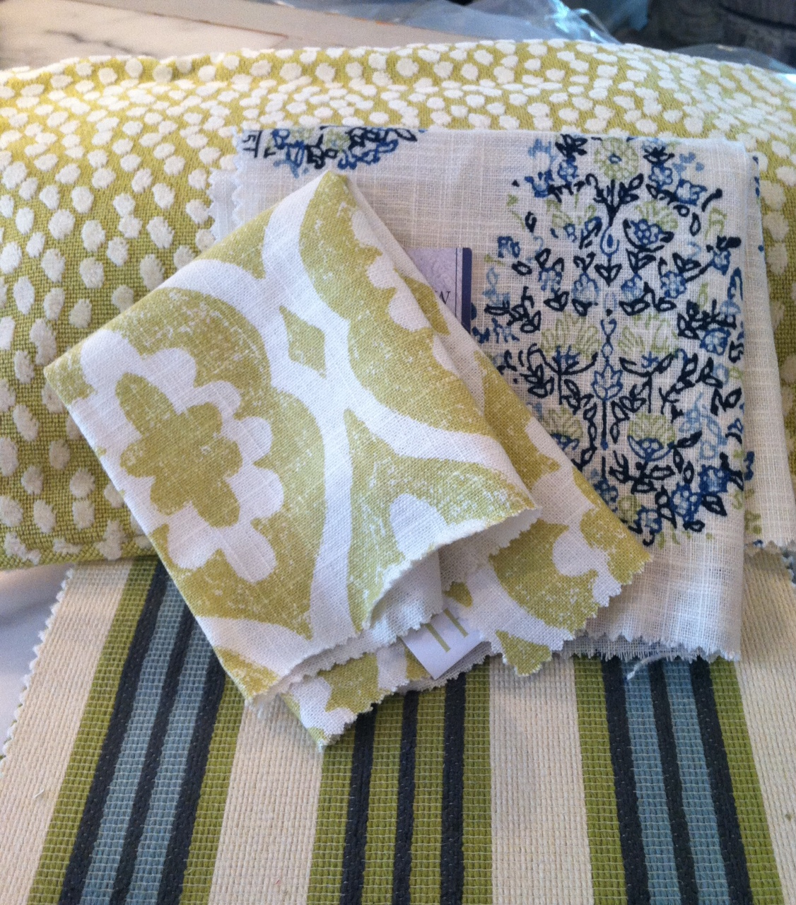 Haute indoor couture client living room fabrics for Haute couture clients