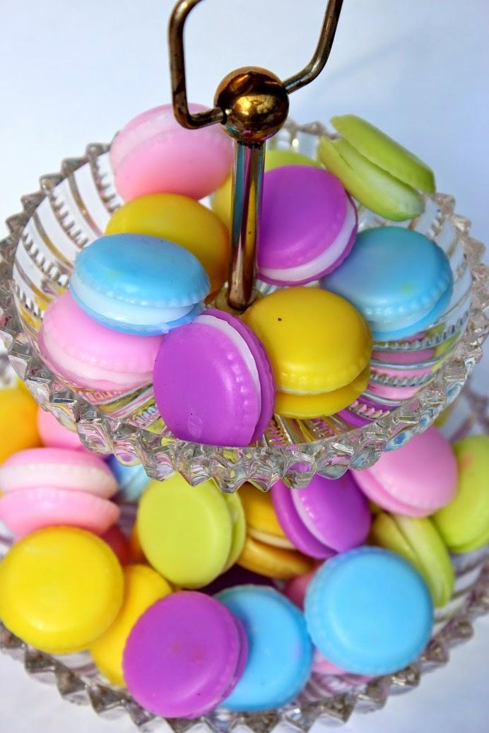 Macaron Seife selbstgemacht