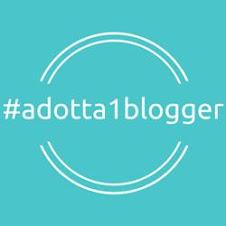#adotta1blogger