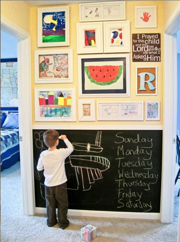 Quarto de crian a cantinho de brincadeira e leitura for Big family small house no room