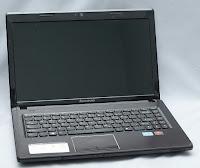 Notebook Gaming Lenovo G470 bekas