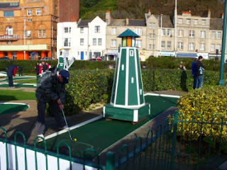 Hastings Crazy Golf course