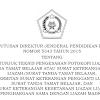Juknis Pengesahan Fotokopi Ijazah/STTB/Surat Keterangan Pengganti Ijazah Madrasah