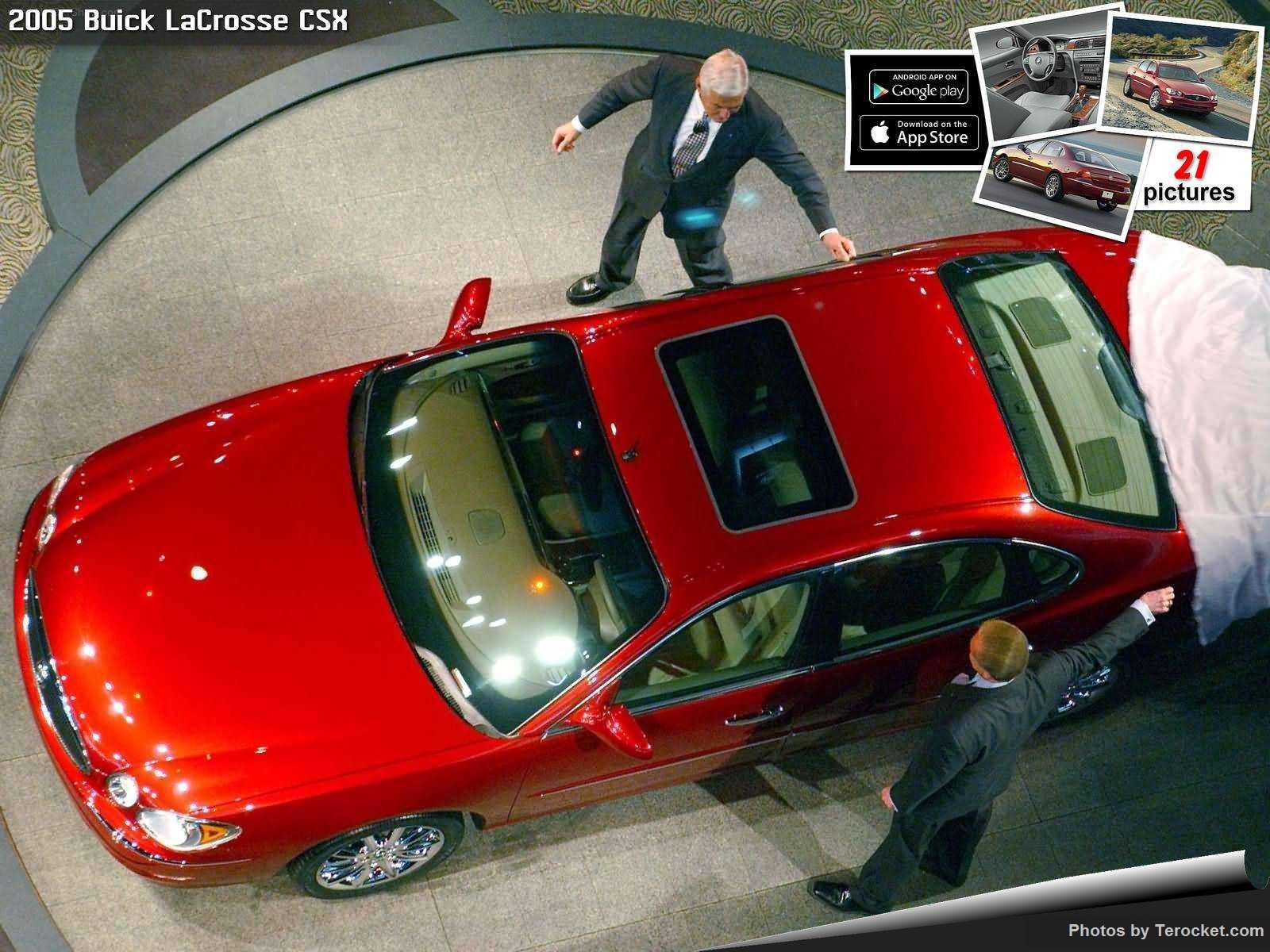 Hình ảnh xe ô tô Buick LaCrosse CSX 2005 & nội ngoại thất