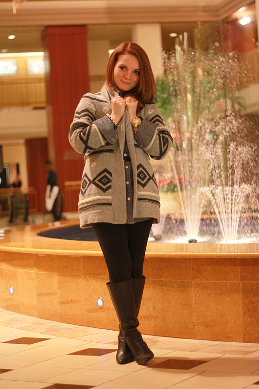 AllyCog: Outfit Post: Fair Isle