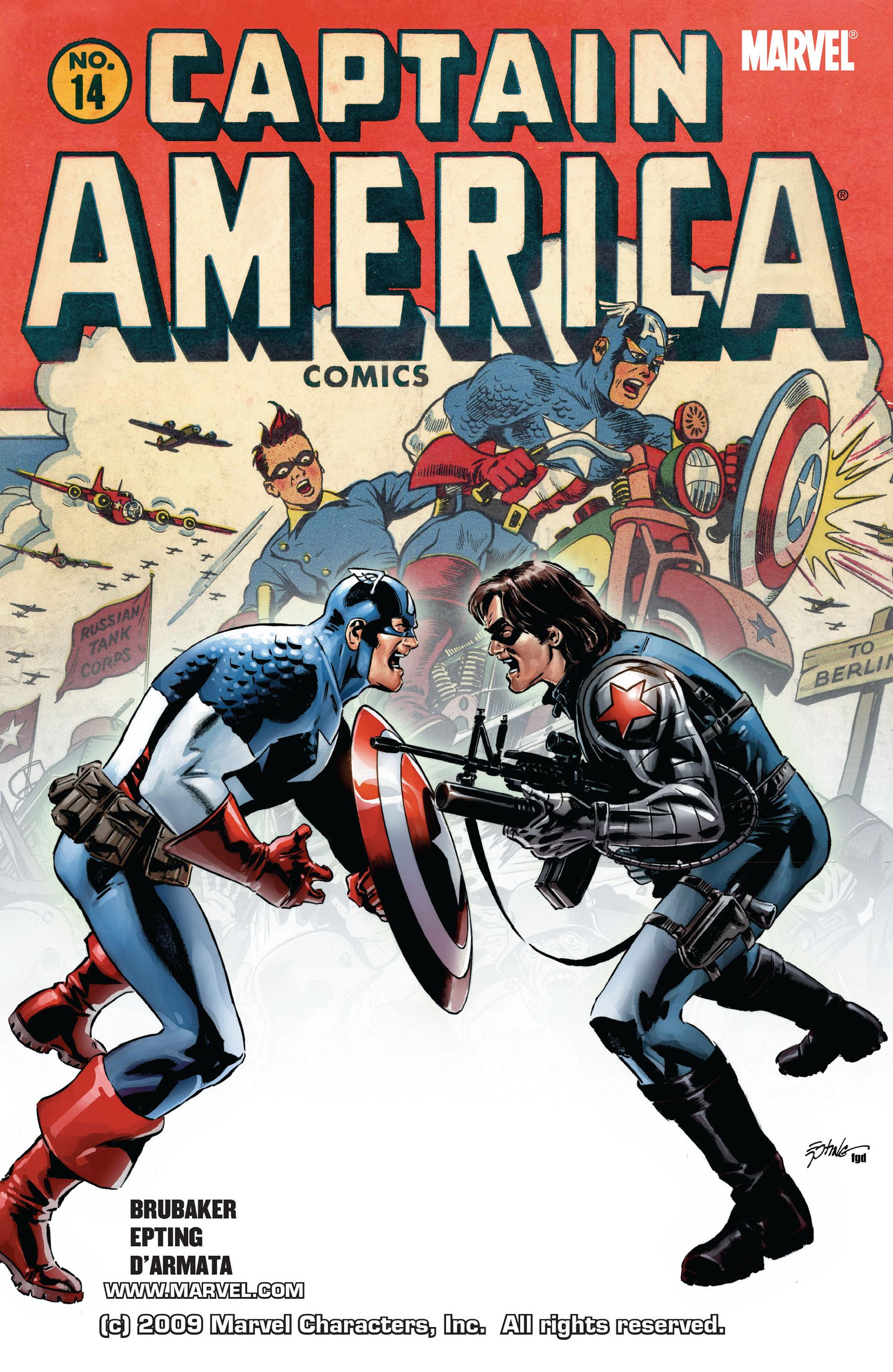 Captain America (2005) Issue #14 #14 - English 1