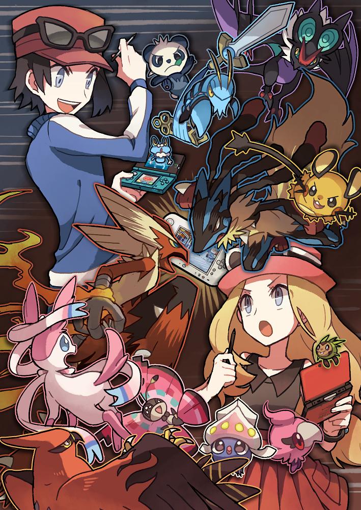 Pokemon X & Y: Moveset para Kalos ~ La madriguera de Gnoblis