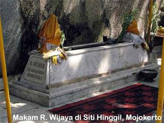 Majapahit, makam wijaya