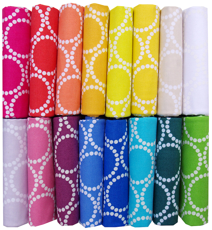 Mini Pearl Bracelets by Lizzy House for Andover Fabrics | Red Pepper Quilts