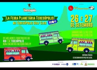 """""""La Feira Planetária Teresópolis""""dias 26 e 27 de setembro de 2015"""