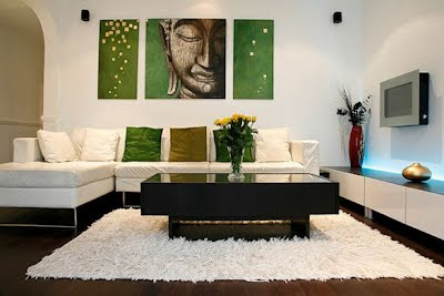 minimalist modernize living room plans
