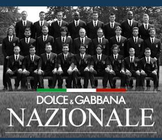 Итальянская сборная в D&G