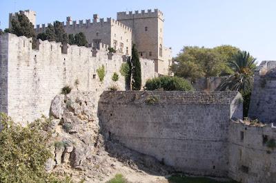 Palatului cavalerilor maltezi, orasul Rodos, Rodos, Grecia