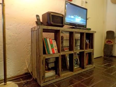 Muebles para tv reciclados - Como hacer un mueble para tv ...