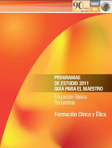 PLAN DE ESTUDIOS FORMACIÓN CÍVICA