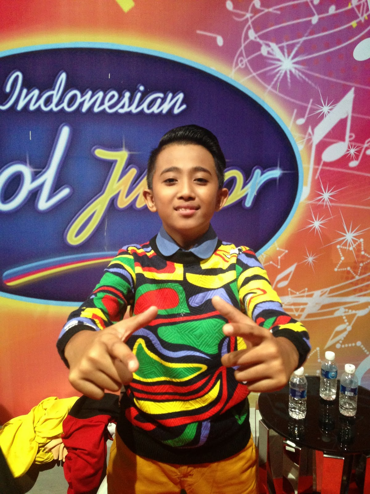 Finalis Indonesian Idol Junior Rian Finalis Indonesian Idol