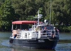 Our Vessel - the MV Haendel!