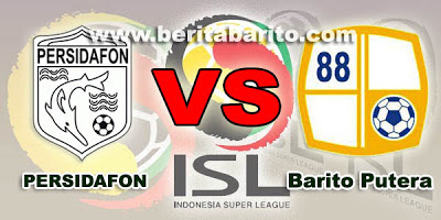 Barito Putera vs Persidafon ISL 2013