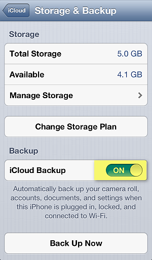 backup iphone sms